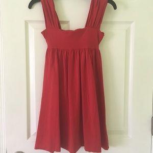Victoria's Secret red cotton dress - xsmall